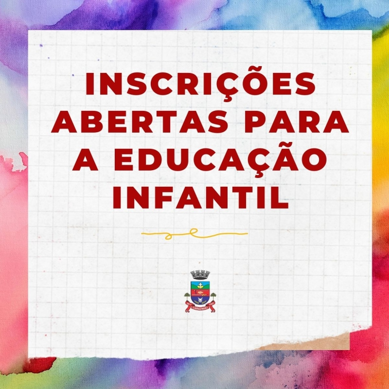 Noticia inscricoes-abertas-para-a-educacao-infantil