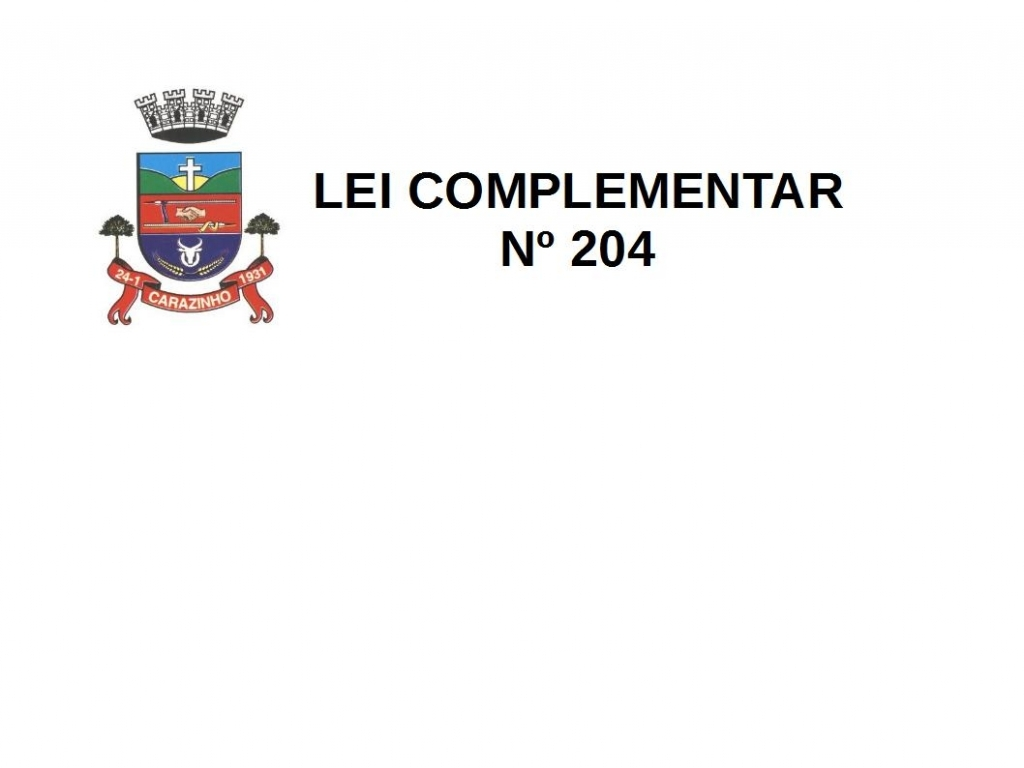Lei Complementar/Nº 029